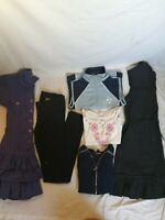 LOT de 6 vêtements fille 14ans pantalon en jean's noir skinny