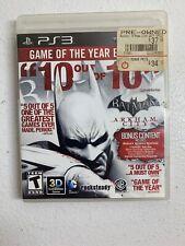 Batman: Arkham City (Sony Playstation 3) Ps3 No manual. Free Shipping
