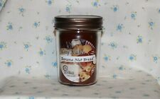 Banana Nut Bread Jar Triple Scented Candle 8 oz Hand Made