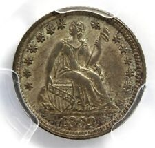 1853 SEATED LIBERTY Half-Dime,  PCGS  AU  53, ARROWS