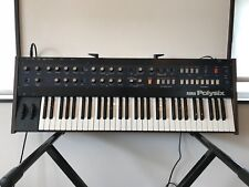 Korg Polysix PS-6 Vintage Analog Synthesizer professional overhauled w/ case