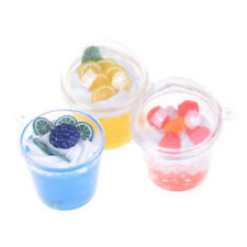 1:6 Dollhouse Simulation Food Decor Mini Mousse Ice Cream Cup Model Toys L3s