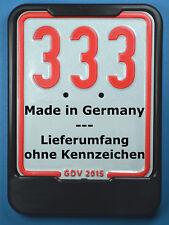 Wechsel Kennzeichen Halter Kennzeichenhalter Nummernschild Mofa Moped Roller