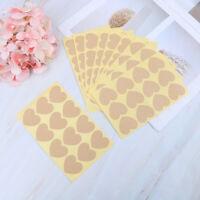10 Sheet Handmade sticker label gift kraft paper sticker wedding seals bakeryHGU
