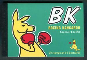 2004 BK Boxing Kangaroo (PB37) Souvenir Prestige Booklet