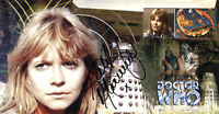 """Doctor Who """"Day Of The Daleks"""" Collectable Stamp Cover - Signed by KATY MANNING"""