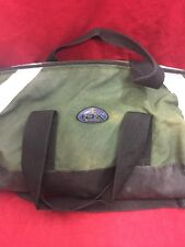 """IRON DUCK IDX Xtreme Oxygen Duffle Bag Clamshell Green """"D"""" See Listing"""