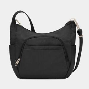Travelon Classic Anti-Theft Crossbody Travel Bag Black 42757- RRP $139-NEW+TAGS