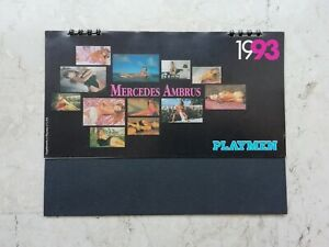 PLAYMEN CALENDARIO da TAVOLO 1993 MERCEDES AMBRUS