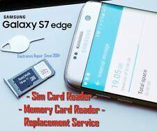 Samsung Galaxy S7 Edge G935 Sim Card Reader SD Memory Card Reader Replacement