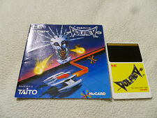 JAPAN IMPORT PC ENGINE HU CARD VOLVFIEV GAME W MANUAL HE SYSTEM RARE TAITO 1989