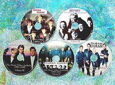 4 Buttons & FREE DURAN DURAN Music Video & Remix 5 DVD Set 105 Vids Paper Gods