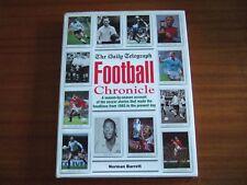 The Daily Telegraph Football Chronicle by Barrett (Hardback, 1993)