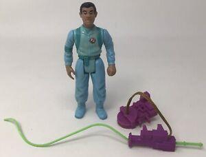 Vtg The Real Ghostbusters Slimed Heroes Figure Winston Zeddmore Kenner 1990