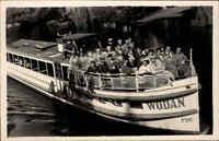 Schiffe Echtfoto-AK Schiffsfoto ~1960 kleines Personen-Schiff WODAN bei Berlin