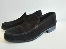 SANTONI Men shoes loafers taille size 42,5 US 9,5 mocassins Weston Meermin +400€