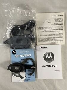 Motorola | Bluetooth Headset | HS850 | Charger & Manual Included