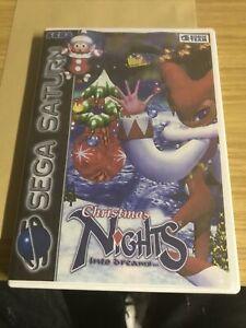 Christmas NiGHTS Into Dreams - Sega Saturn ** PRINTED COVER **