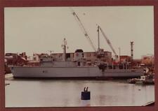 HMS Ledbury (M30) Vosper's Shipyard, Portsmouth   photograph  zh.173