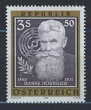 Austria 1985 MNH SC.1331 Hanns Horbiger, Inventore