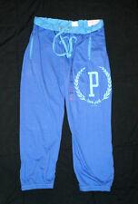 VICTORIA'S SECRET LOVE PINK SWEATPANTS Signature Fit Sweats Pants Blue P X-SMALL