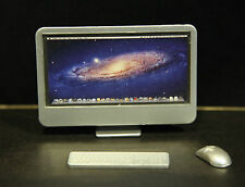1/6th scale  imac + keyboard + mouse for Steve Jobs Action Figure