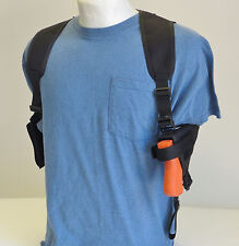 Shoulder Holster for Springfield XDs Compact 9mm/45 Pistol with Underbarrel Lasr