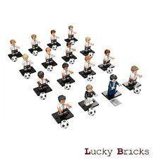 LEGO Minifiguren 71014 - DFB - Die Mannschaft ++ alle 16 Figuren + komplett +