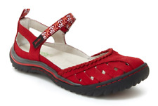Jambu Apple Blossom Red Mary Jane Strappy Flat Shoe Women's sizes 6-10/NEW!!!