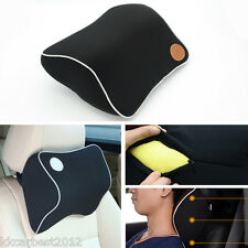 Car Memory Foam Comfort Neck Support Travel Cushion Pillow Seat Headrest Rest BK