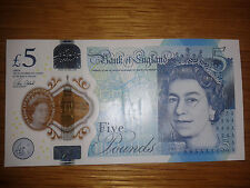 """AM19 778294 """"1977 STAR WARS"""" Bank Of England Five Pound Note With Errors"""