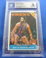 WALT FRAZIER authenticated Beckett signed autograph auto 1975-76 Topps NY Knicks
