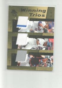 2007 SPX WINNING TRIOS GOLD #WT37 BILLY WAGNER/JOSE REYES/PAUL LODUCA 34/75