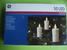 GE CHRISTMAS CANDLE LED STRING LIGHTS VICTORIAN STYLE CLIP 18 FT NEW