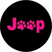 JEEP PINK PAWS Vehicle Door Logo Lights- LED Puddle Projector Logo Lights