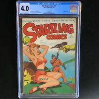 Startling Comics #47 (1947) 💥 CGC 4.0 💥 Golden Age Sci-Fi Cover by Schomburg!