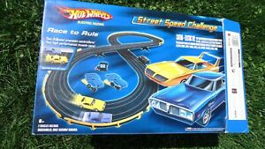 Official Hot Wheels - Street Speed Challenge Slot Track Set - Complete & Tested