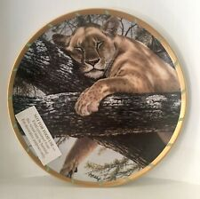Lenox Cat Nap by Guy Coheleach - Royal Cats Plate Collection