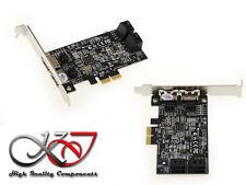 Carte Contrôleur PCIe SATA / eSATA 6G 4+2 PORTS - PCIe 2X - RAID 0 / 1 / 10