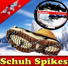 Schuh Spikes Schuhspikes Schuhketten Gleitschutz Gr. 35-46 Universal