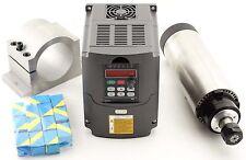 2.2KW AIR-Cooled Spindle Motor Spinde lmotor  +VFD Frequenzumrichter +Spannzange