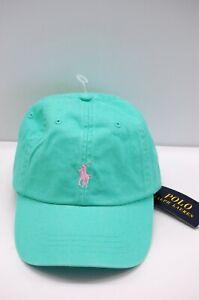 NWT Mens Polo Ralph Lauren Hawaiian Gr Pony Logo Sports Baseball Cap Hat OneSize