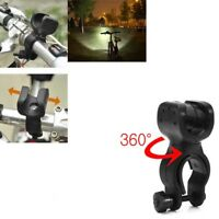 Tactical 20000LM T6 LED Flashlight Zoomable AA/14500 Mini Torch Lamp Bike Holder