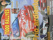 MAGAZINE TODO RALLYES  N°19 RALLY WRC MONTE CARLO SUBARU LOEBANNEE 2002 98 PAGES