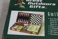 Great Outdoor Gifts 6 in 1 Travel Game Case Set