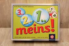 Jeu de société 3 2 1 Meins - Winning Moves - complet jamais joué (allemand)