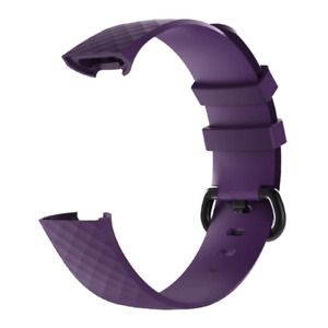 Fitbit Charge 3 Replacement Watch Strap Band Men's Women's SIZE S PURPLE/BL.