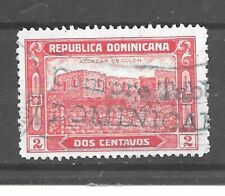 Dominican Republic Stamp- Scott # 243/A29-2c-Canc/LH-1928-NG