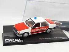 Ixo Presse 1/43 - Opel Ascona C Feuerwehr Pompiers