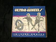 Vintage Ultra Wheels 'The Great One' Wayne Gretzky Black Inline Skates Men's 13